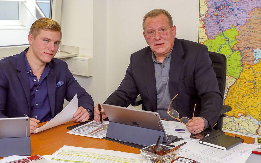 Connor und Jörg Ostermann (v.l.)