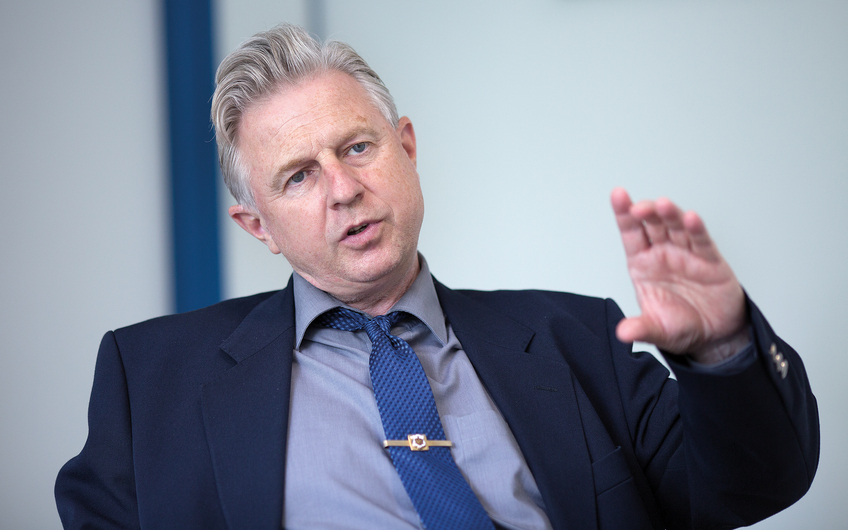 Inhaber Magnus van Eyckels im Gespräch (© Siegfried Dammrath)
