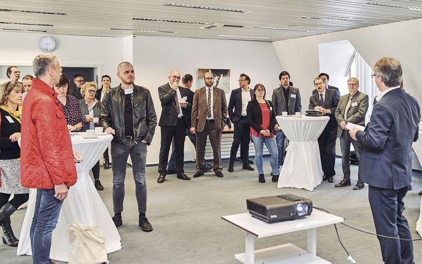 Open Coffee Niederrhein: Grenzenloses Netzwerken