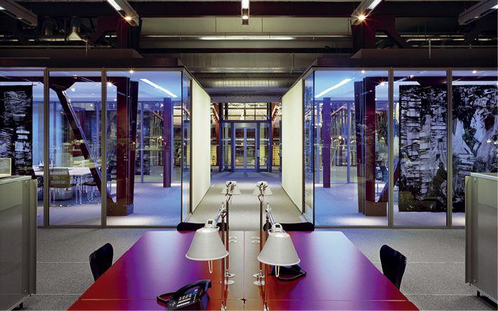 Verwaltungsgebäude der THS