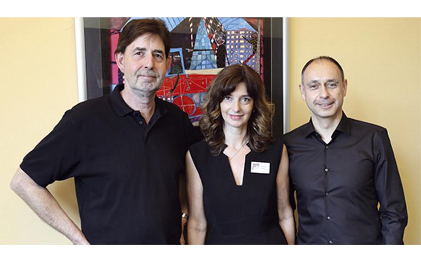 Die Geschwister Reiner Stoffel (technische Leitung), Tanja Alznauer und Thorsten Stoffel (beide kaufmännische Leitung) führen das Unternehmen gemeinsam (v.l.)