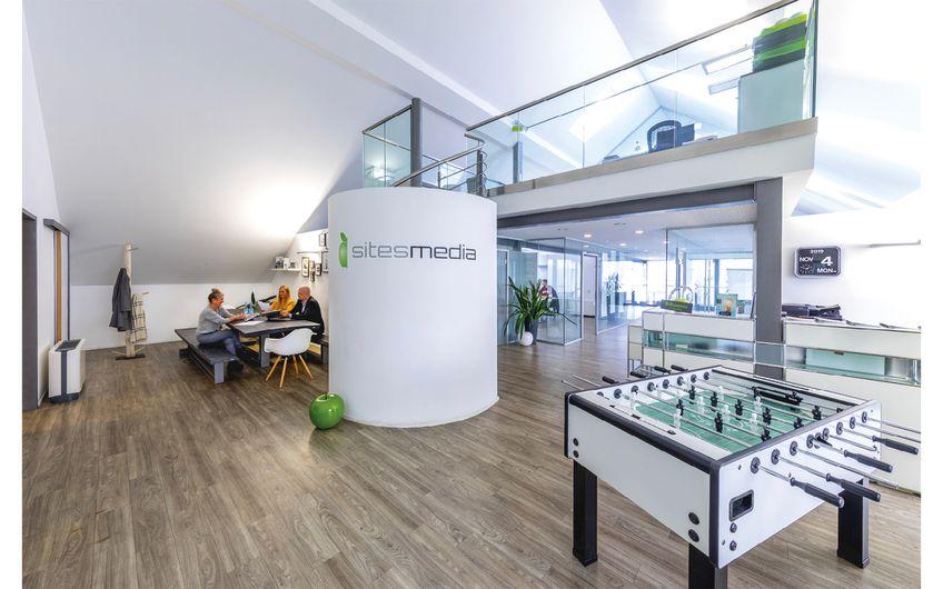 Foto: Jan Heinze Das Team der Werbeagentur sitesmedia in Recklinghausen bietet seinen Kunden einen 360-Grad-Service