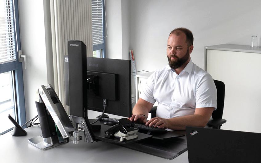 Steffen Schmenn, Leitung Fuhrparkmanagement