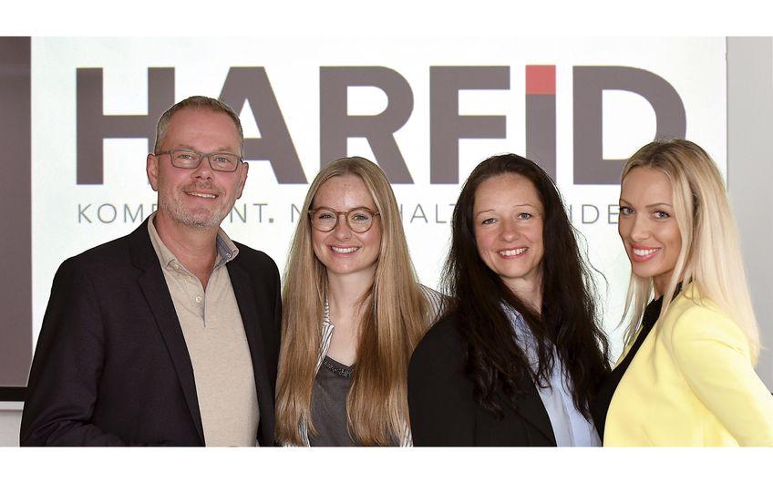 Frank Hermes (Unternehmensentwicklung), Caroline Schlaug (Marketing), Christiane Klieve  (Marketing / Kundenmanagement), Karela Hrgota (Marketing.- und Personalmanagement) (v.l) Foto: Gerd Lorenzen