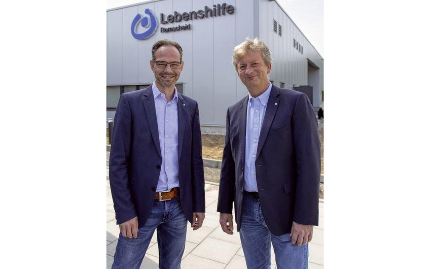 Die Geschäftsführer und Diplom-Ingenieure Oliver Mesch und Wolf-Dietrich Spelsberg (v.l.) (Foto: Wort & Lichtbild)