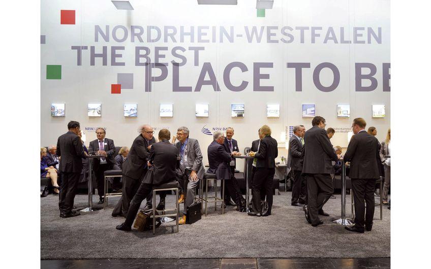 Gut besucht war der Gemeinschaftsstand von NRW.INVEST bereits auf der letzten Expo Real (Foto: NRW.INVEST)