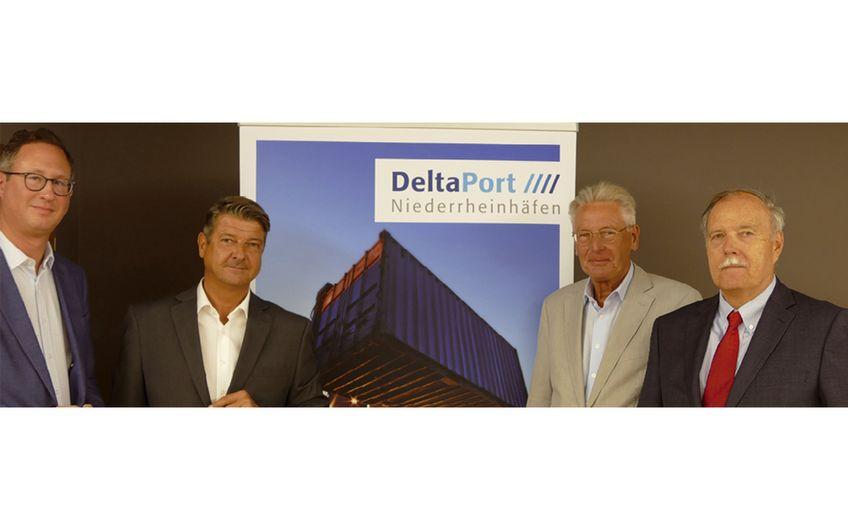 Logistik: DeltaPort Niederrheinhäfen