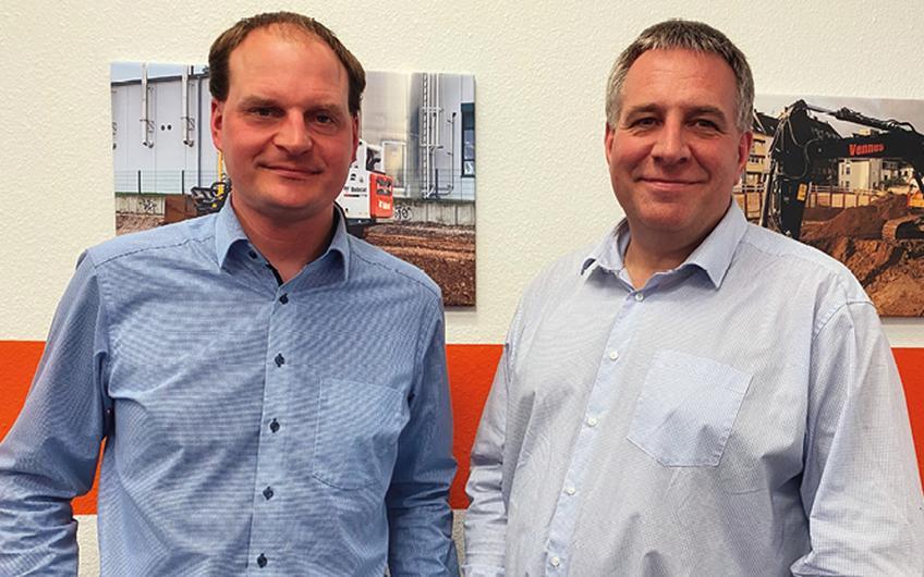 Geschäftsführer Pascal Seibel und Daniel Vennes (v.l.)