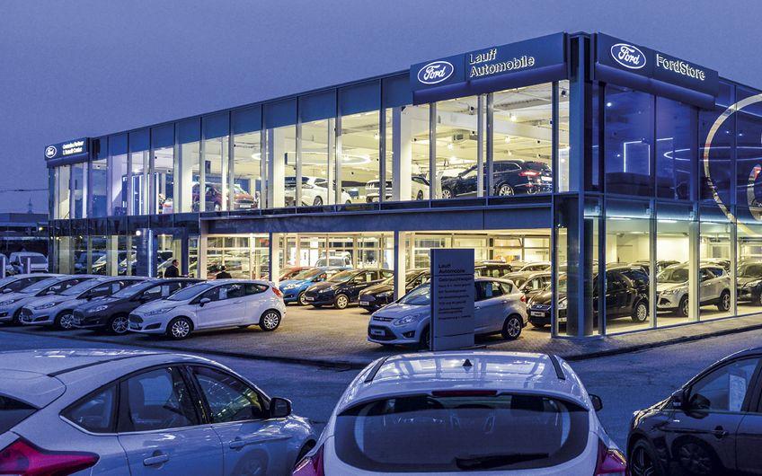 Der neue FordStore in Moers