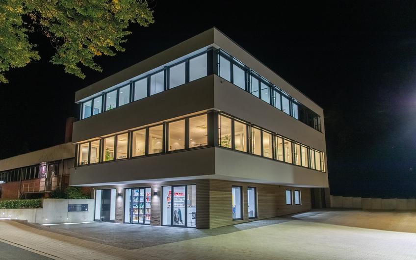 Bürogebäude der Heinz Hiller GmbH Schöppingen (Foto: Matthias Höing)