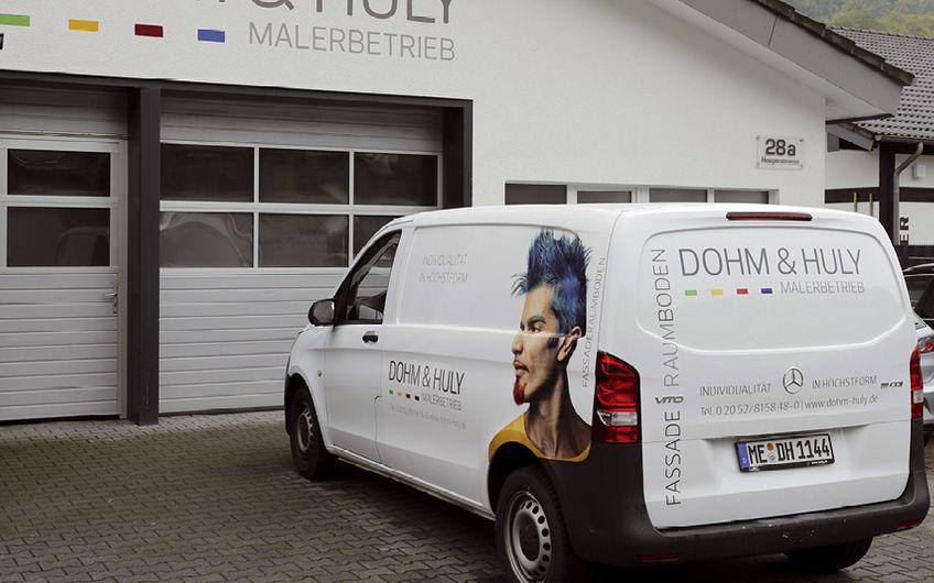 Der Firmensitz der Dohm & Huly GmbH in Velbert-Langenberg