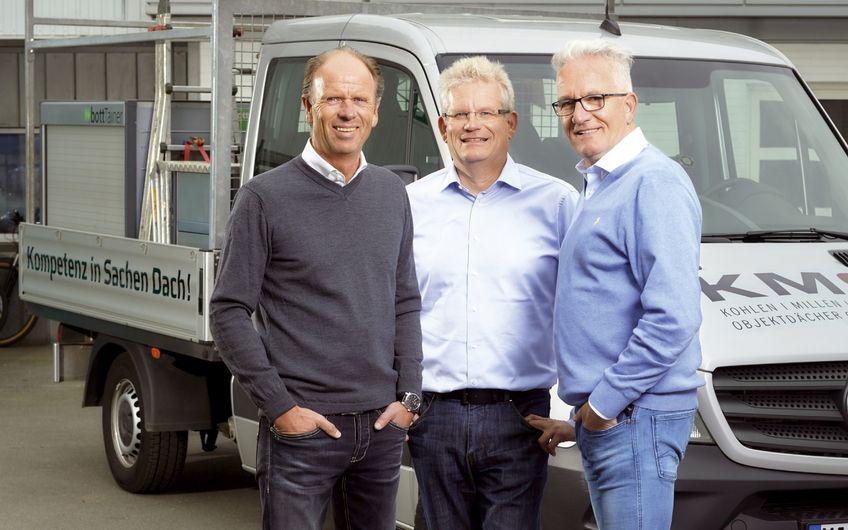 KMS Firmengruppe: Mit neuem Konzept zum perfekten Dach