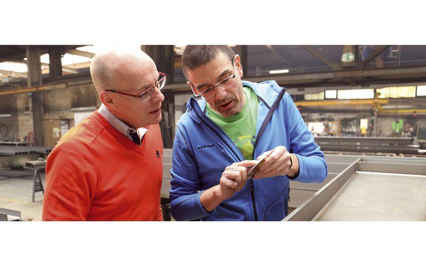 Jochen Brill Hallen- und Industriebau: Schweißtechnische Pionierarbeit