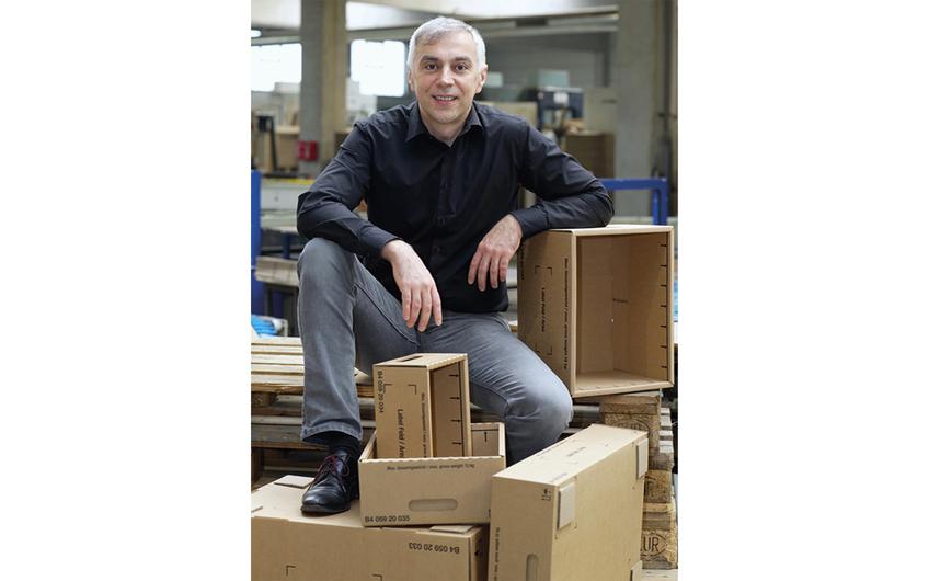 Herr der Verpackungen: Geschäftsführer Zoran Jelica
