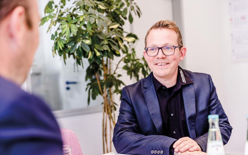 Geschäftsführer Stephan Unrein (Foto: Thomas Bocian)