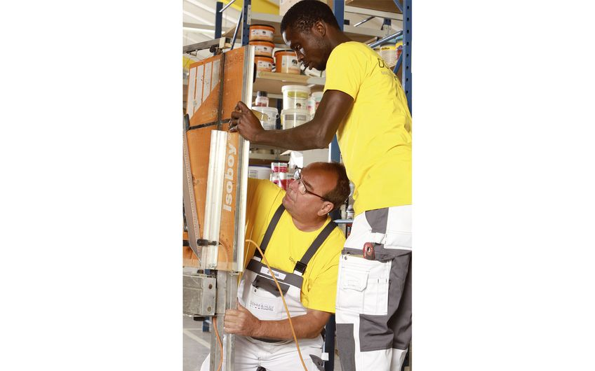Die knapp 30 Mitarbeiter von Dohm & Huly sind neben den  Arbeiten bei privaten Auftraggebern auch in Großobjekten aktiv