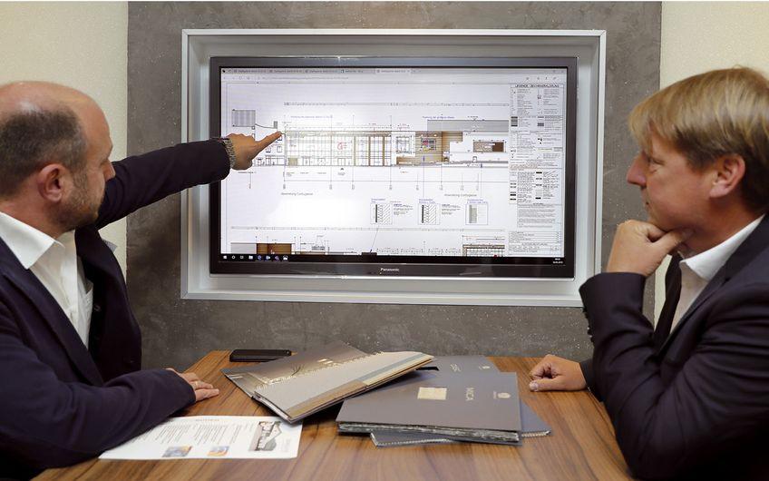 Die Planungsarbeiten erfolgen bei Dohm & Huly komplett digital