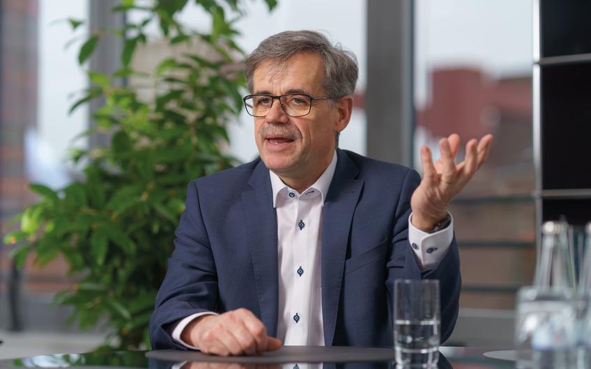 Uwe Penth, Vorsitzender der Geschäftsführung der RAG Montan Immobilien (© RAG Montan Immobilien, Fotograf: Volker Wiciok)