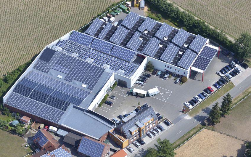 Firmensitz der B&W Energy GmbH & Co. KG in Heiden