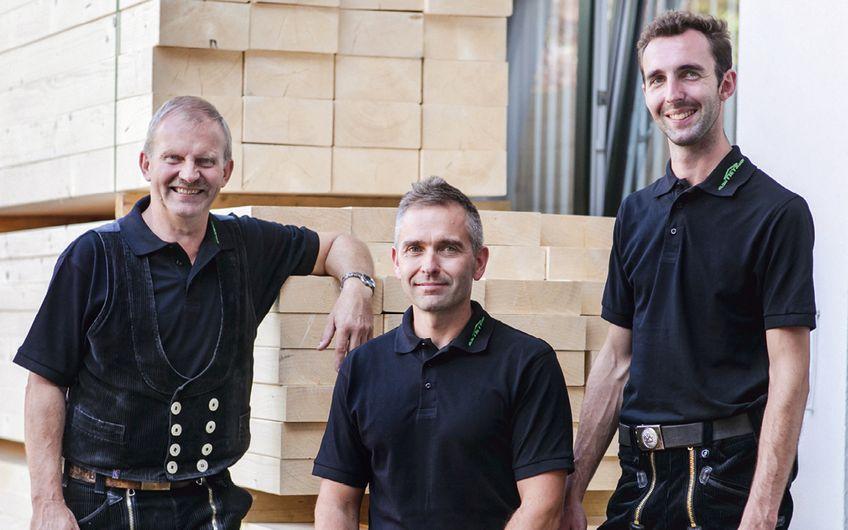 Heinz Holtrup, Thorsten Sachs, Tobias Bielemeier (v.l.)