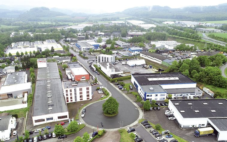 """Industrie- und Gewerbegebiet """"Enste"""": Direktanschluss zur Autobahn"""