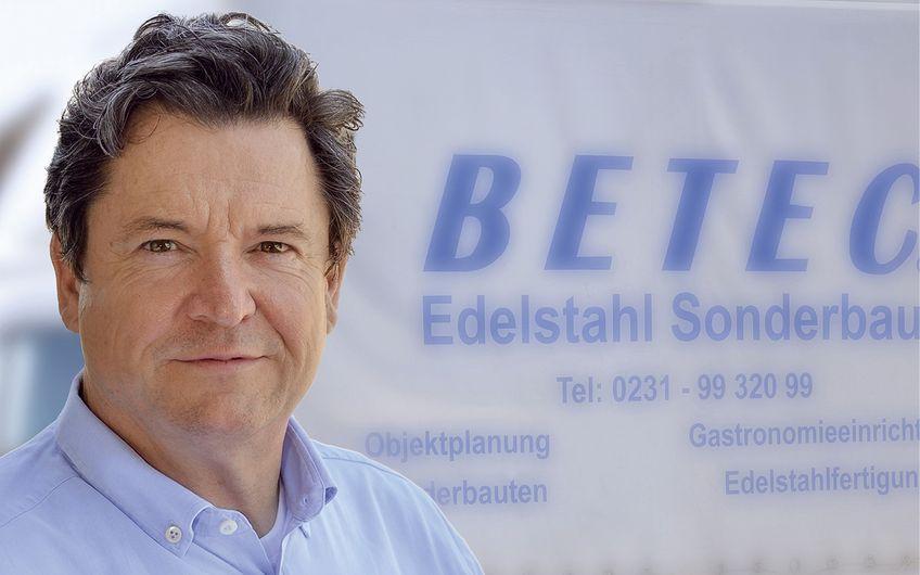 BETEC-Geschäftsführer Patrick Brückner (Foto: Jan Schmitz)