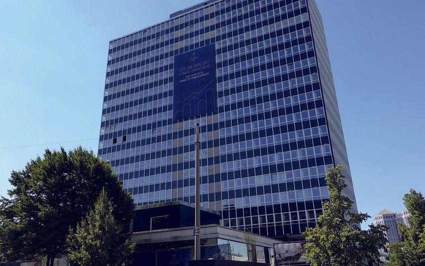 Exklusiver Beratungs- und Vermarktungsauftrag des MAGNA Towers. Durch Brockhoff nahezu vollvermietet