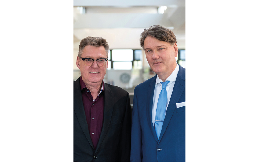 Die Kohlsmann Bürobedarf GmbH wird geleitet von den Brüdern Thorsten und Sven Kohlsmann (v.l.)