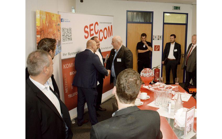 Über 90 Gäste informierten sich auf der 08. SEC-COM Hausmesse über  Neuigkeiten in den Bereichen Kommunikation, Sicherheit und Netzwerke (Foto: Daniel Dorra)