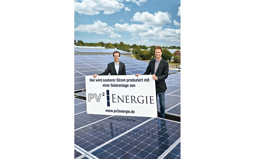 PV2 Energie: CO2-Bilanz verbessern,  Energiekosten senken