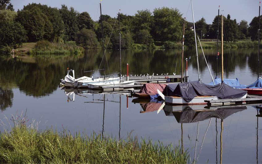 Seen und Grünflächen sorgen für einen hohen Erholungswert in Bocholt (Foto: ©Stephan Sühling – stock.adobe.com)