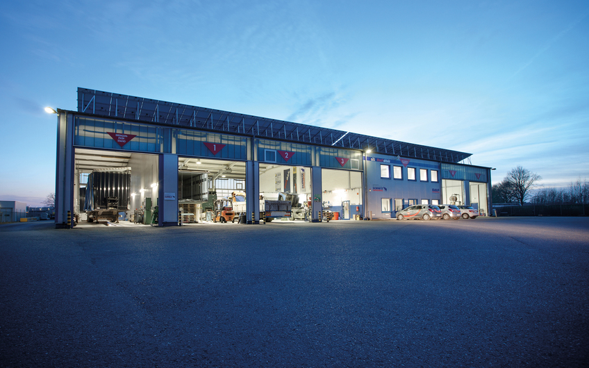 Truck-Center Vreden: Solide Werkstattarbeit trifft innovative Ideen