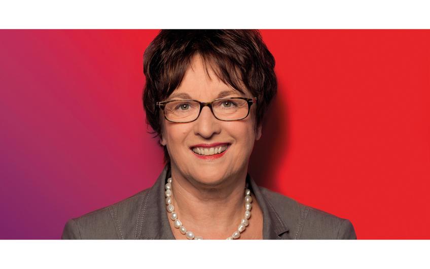 Brigitte Zypries, Bundestagsabgeordnete für den Wahlkreis Darmstadt-Dieburg und Unterstützerin des Frauen-Kongresses