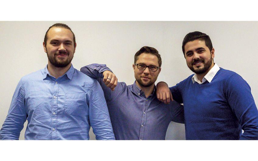 Die Trainer Lukas Müller, Arman Nabizada und Manuel Smaniotto von 020-EPOS (v.l.)
