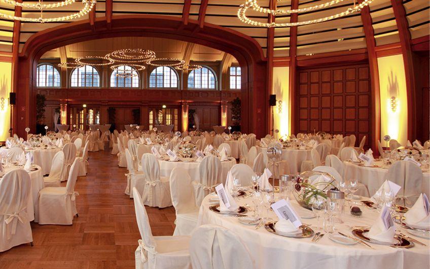 Großer Saal & Gartensaal im Kasino Leverkusen