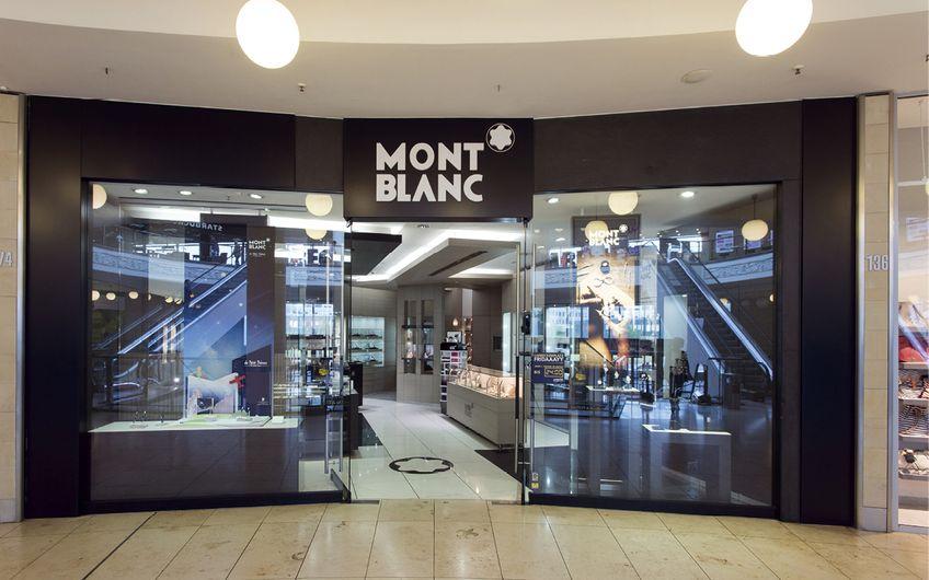 Montblanc Shops in Essen: Kultmarke Montblanc