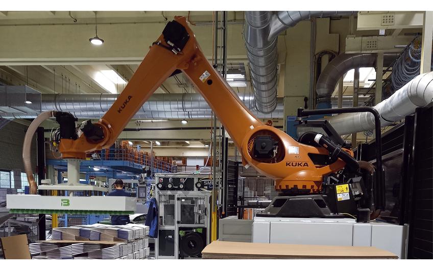 Neue Robottechnik  für gesundes Arbeiten
