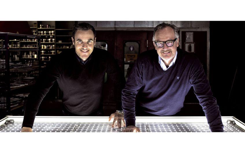 Die Geschäftsführer Sascha Neicken und Jörg Privsek (v.l.)