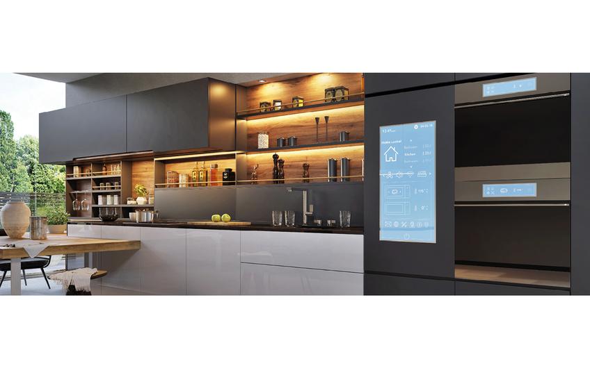 Der Kühlschrank, der selbstständig nachbestellt oder der Roboter, der die Hausarbeit erledigt:  Digitale Diener beflügeln die Fantasie schon lange. (© slavun − stock.adobe.com)