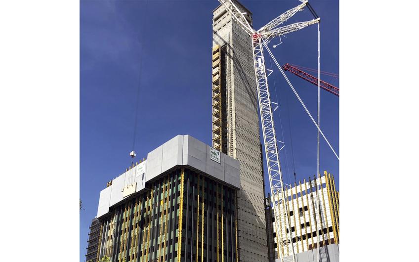 Das bisher größte Projekt der Firmengeschichte: Deutsche Welle Köln (Foto: BST Becker)