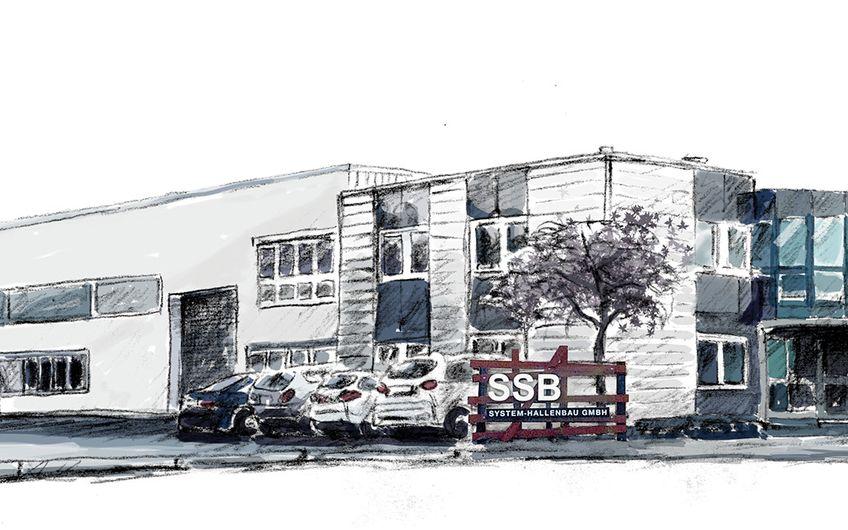 SSB System-Hallenbau