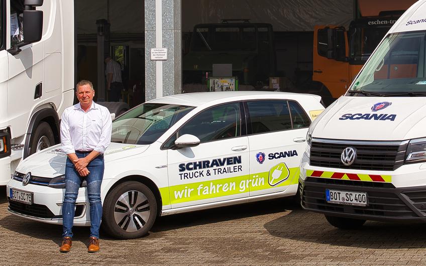 Stefan Schraven ist seit 1994 Geschäftsführer (© Holger Bernert)