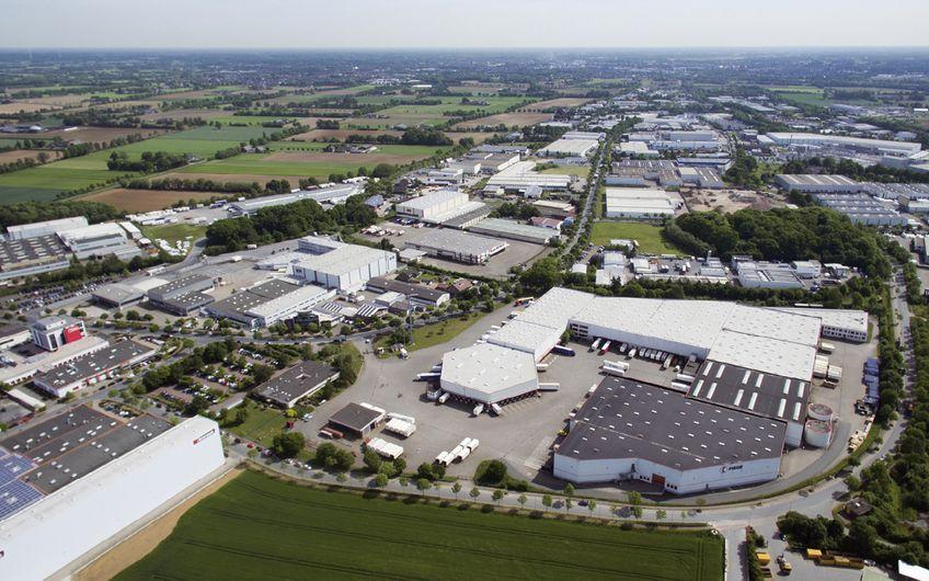 Einer der größten zusammenhängenden Industrieparks befindet sich in Bocholt (Foto: ©Wirtschaftsförderung Bocholt)