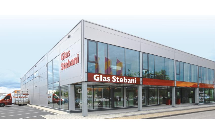 Firmensitz der Glas Stebani GmbH an der Econova-Allee 18 in Essen
