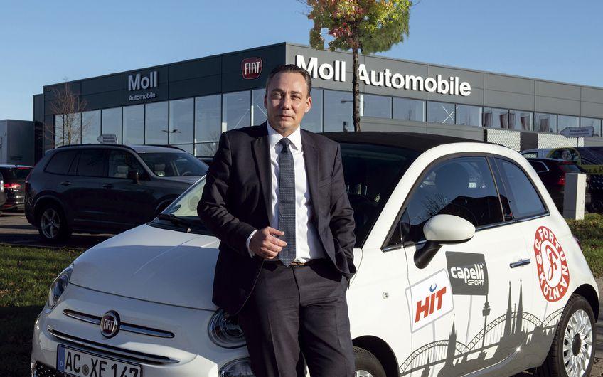 Moll Automobile: Der mobile Werbeträger – reloaded