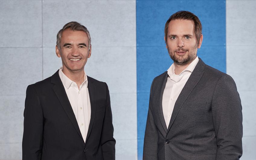 Nadjib Rajab (l.) und Patrick Hörner (r.), Geschäftsführer der NetCologne IT Services GmbH