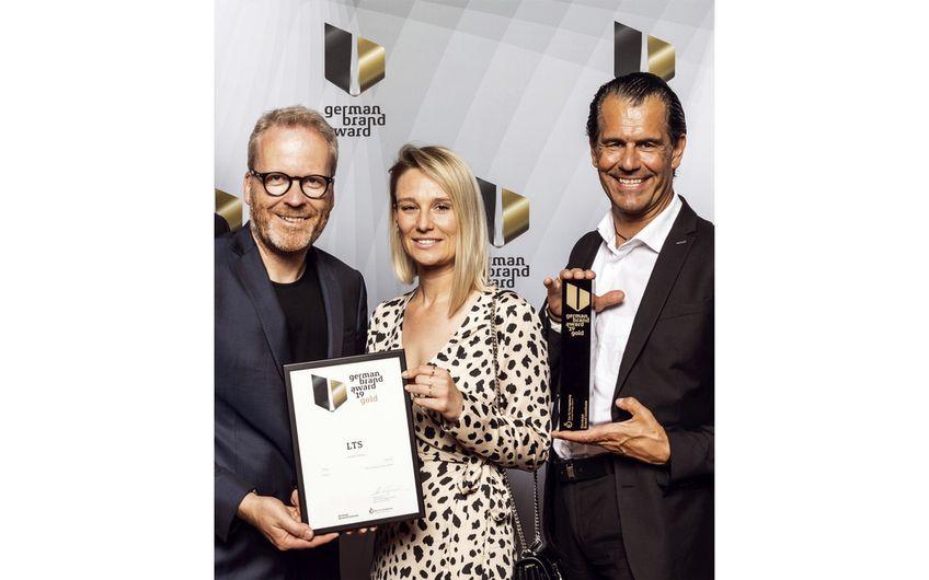 Awardverleihung in Berlin: Guido Beck, Julia Brauchle und Michael Cappello