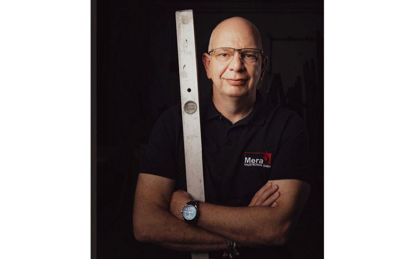 Ralf Hermanns, Geschäftsführer der Mera-Haustechnik