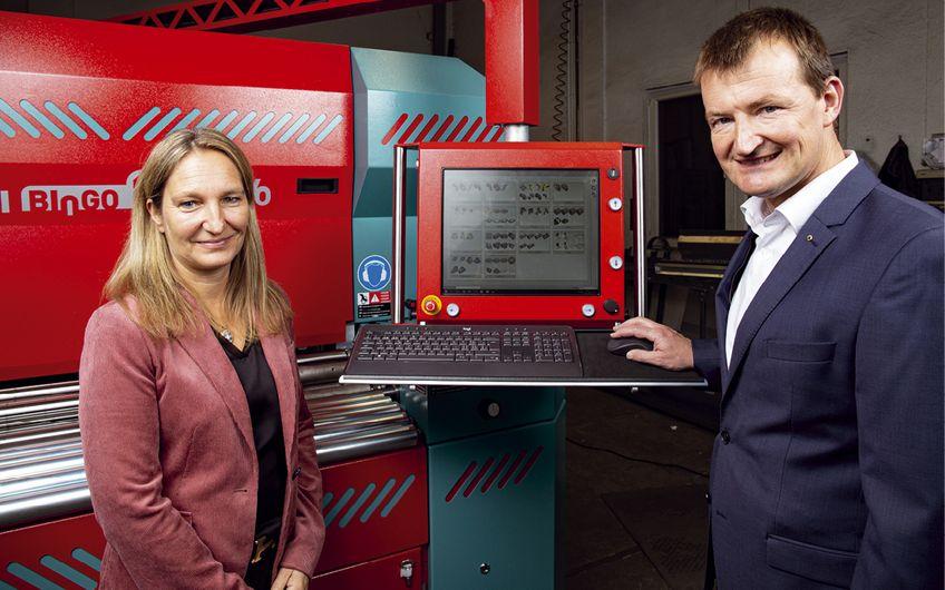 Nicola Müller-Starck und Michael Starck, die geschäftsführenden Gesellschafter in dritter Generation Foto: Wort & Lichtbild