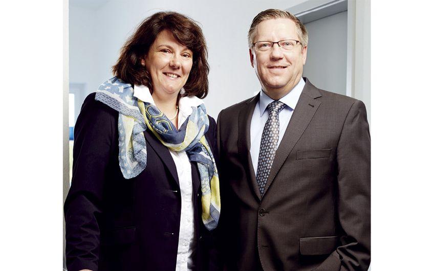 Claudia Wrobleski, Prokuristin und Leiterin Prüfservice, Thomas Wrobleski, Geschäftsführer